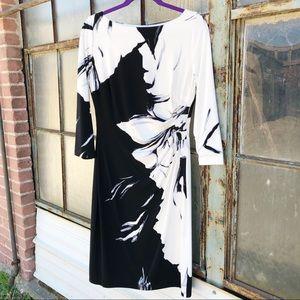 Lauren Ralph Lauren 3/4 Sleeve Dress - C12